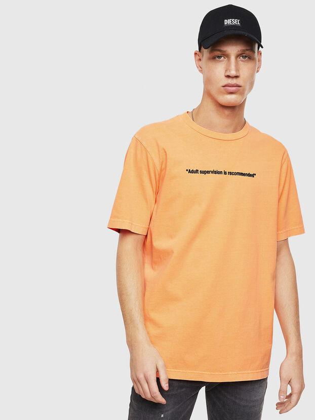 T-JUST-NEON, Arancione - T-Shirts