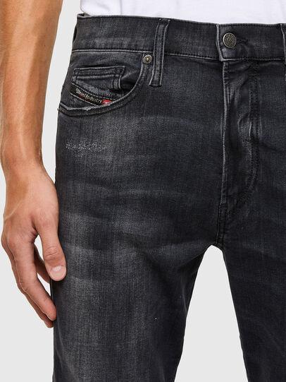 Diesel - D-Istort 069RL, Nero/Grigio scuro - Jeans - Image 3