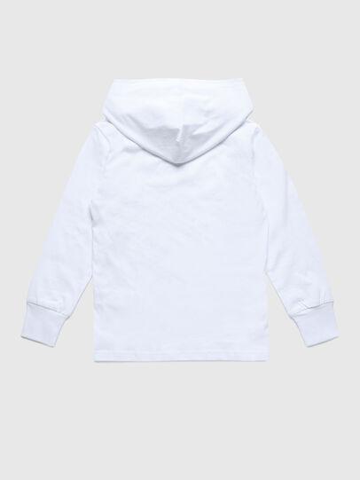 Diesel - TDIEGOHOODS3 ML, Bianco - T-shirts e Tops - Image 2