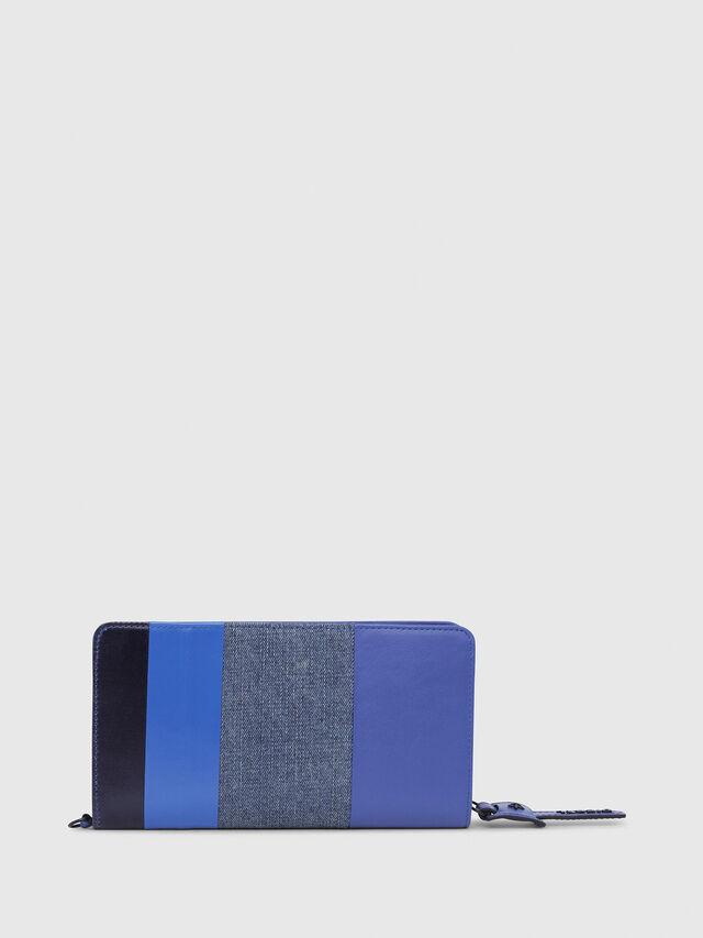Diesel - NEW GRANATO LOOP, Blu - Portafogli Con Zip - Image 2