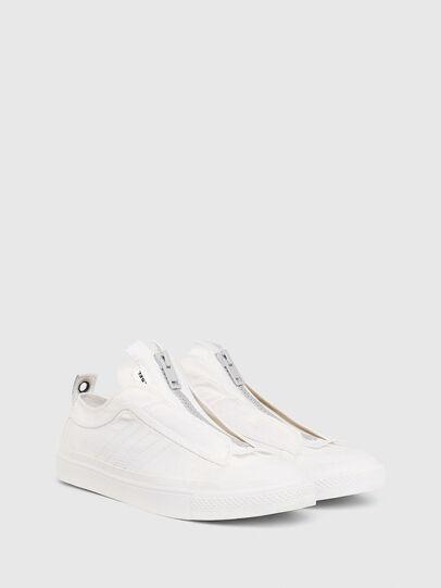 Diesel - S-ASTICO LOW ZIP SP, Bianco - Sneakers - Image 2