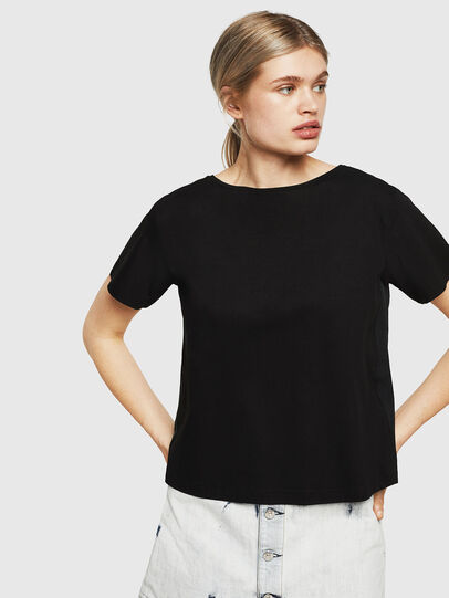 Diesel - T-RYLY, Nero - T-Shirts - Image 5