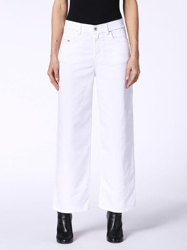 WIDEE F JOGGJEANS 0684U, Bianco Jeans
