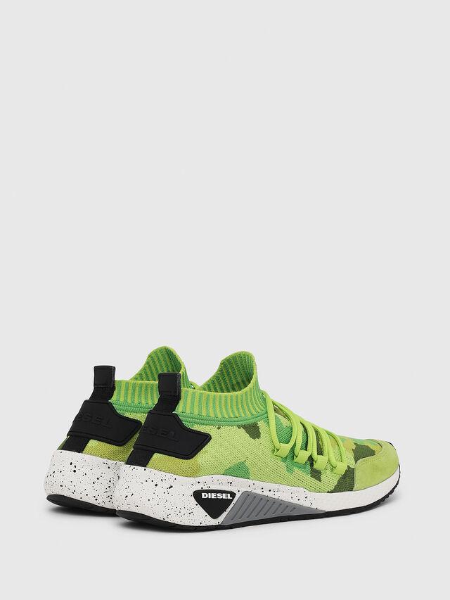 Diesel - S-KB SL W, Verde Fluo - Sneakers - Image 3