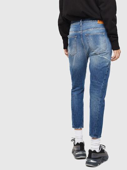 Diesel - Fayza 0097B, Blu medio - Jeans - Image 2