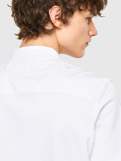 Diesel - T-ERPOLOCK, Bianco - Polo - Image 4