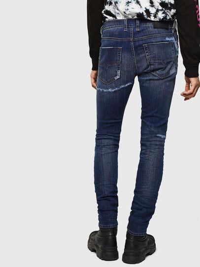 Diesel - Tepphar 0098N, Blu Scuro - Jeans - Image 2