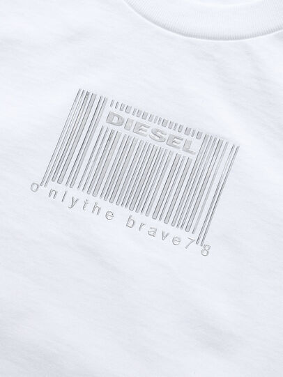 Diesel - TCODE, Bianco - T-shirts e Tops - Image 3