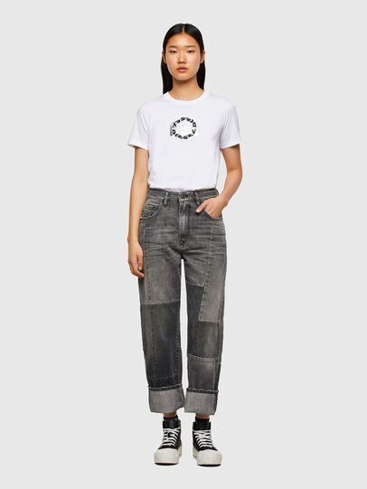 Diesel - T-SILY-R5, Bianco - T-Shirts - Image 4