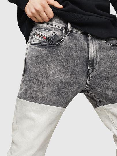 Diesel - D-Strukt 069GK, Nero/Grigio scuro - Jeans - Image 3