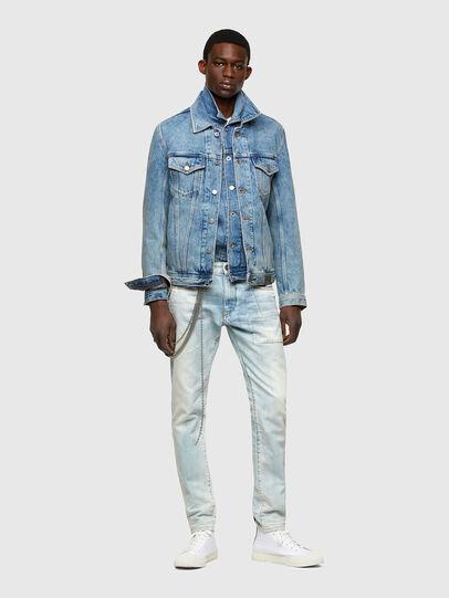Diesel - D-Strukt 009TN, Blu Chiaro - Jeans - Image 6