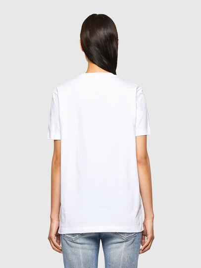 Diesel - CL-T-DIEGOS-O2, Bianco - T-Shirts - Image 4