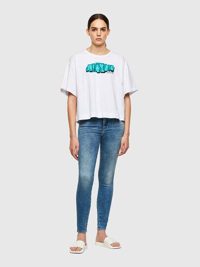 Diesel - Slandy High 009PT, Blu Chiaro - Jeans - Image 5