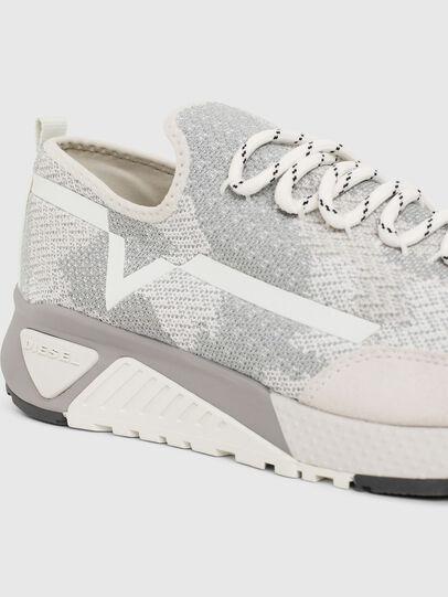Diesel - S-KBY, Grigio/Bianco - Sneakers - Image 4