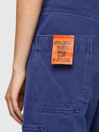 Diesel - D-Luite 0EEAX, Blu medio - Jeans - Image 3