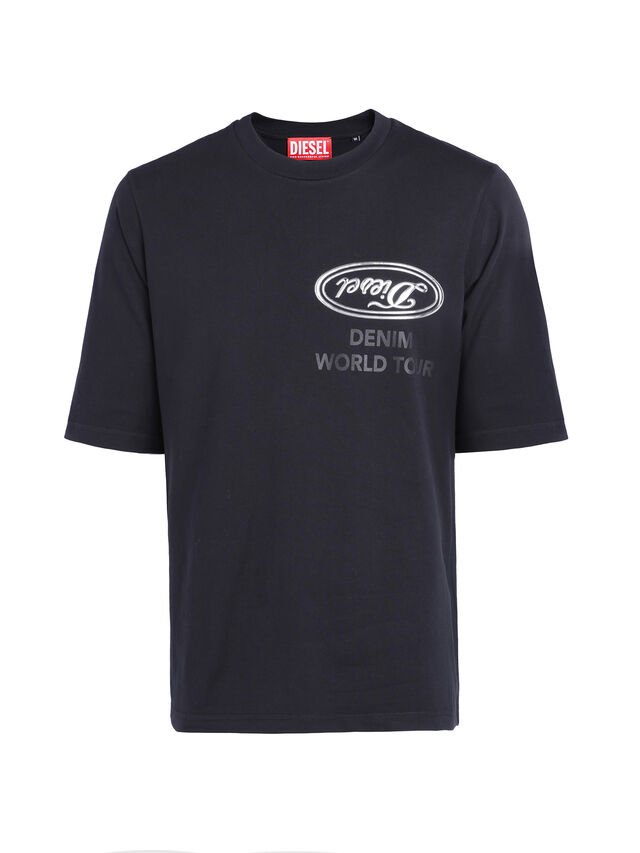 Diesel - SOTO01, Nero - T-Shirts - Image 1