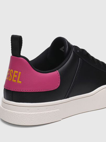 Diesel - S-CLEVER LOW LACE W, Nero/Rosa - Sneakers - Image 4
