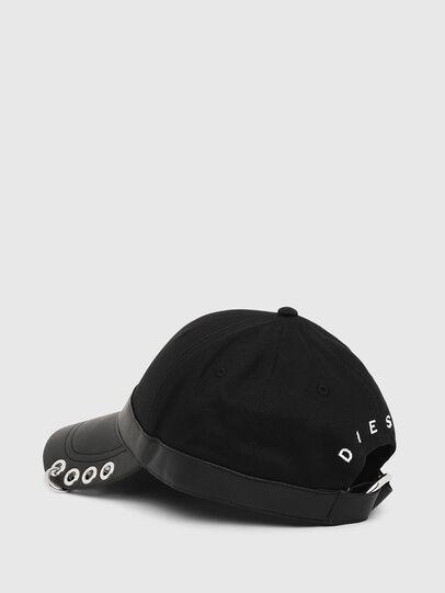 Diesel - COSNAP, Nero - Cappelli - Image 2