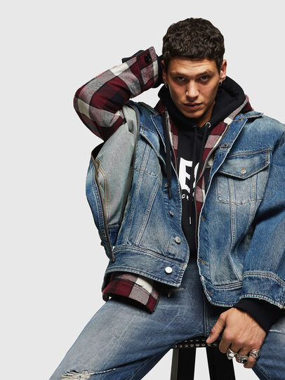 Diesel - D-LORY,  - Giacche in denim - Image 3