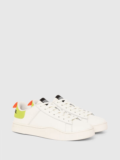 Diesel - S-CLEVER LOW LACE, Bianco/Giallo - Sneakers - Image 2