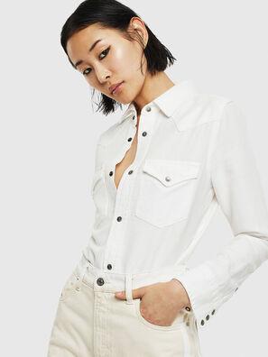 DE-RINGY, Bianco - Camicie in Denim