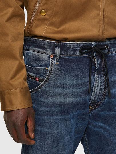 Diesel - Krooley JoggJeans® 069VX, Blu Scuro - Jeans - Image 4