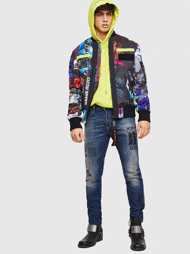 Diesel - Buster 087AW, Blu Scuro - Jeans - Image 5