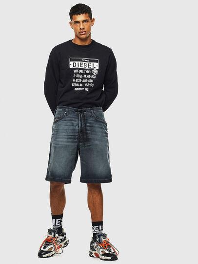 Diesel - D-WILLOH CB JOGGJEANS, Blu Scuro - Shorts - Image 6