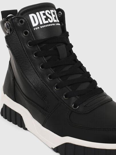 Diesel - S-RUA MID W, Nero - Sneakers - Image 4
