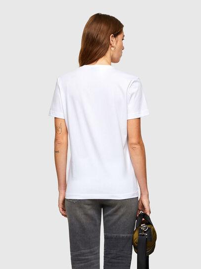 Diesel - T-DIEGOS-A11, Bianco - T-Shirts - Image 2