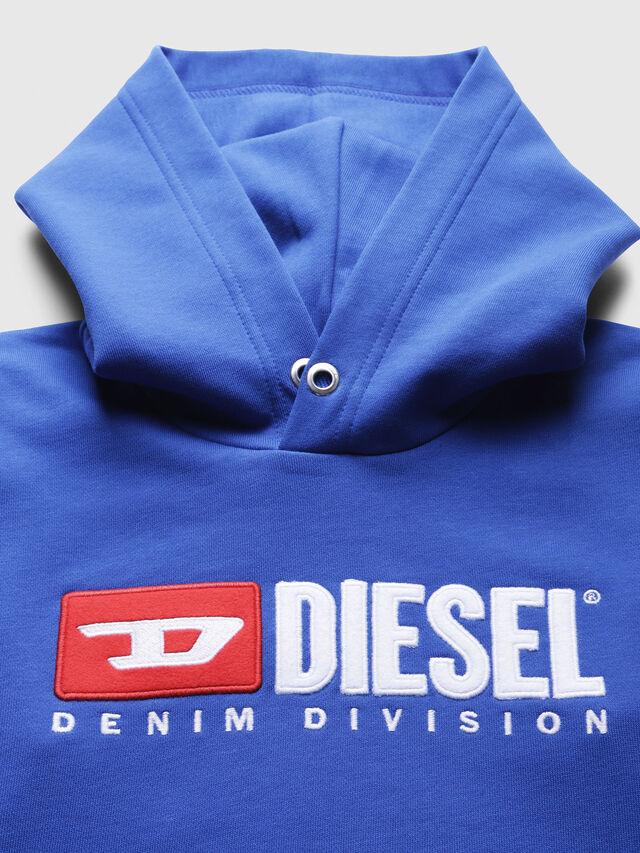 Diesel - SDIVISION OVER, Blu Ceruleo - Felpe - Image 3