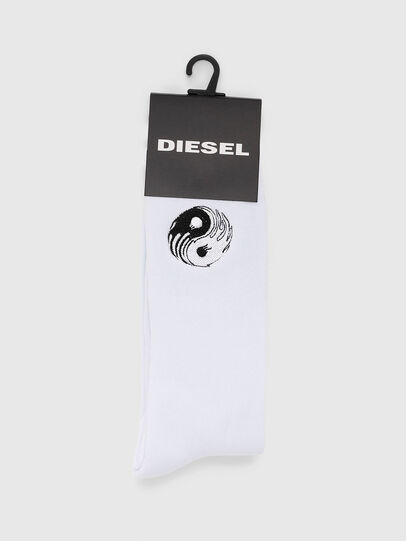 Diesel - SKM-RAY, Bianco - Calzini - Image 2