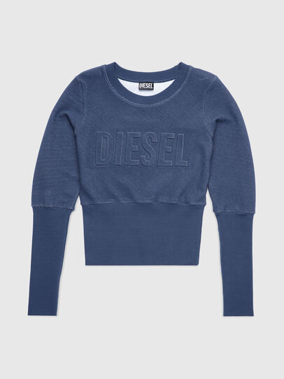 Diesel - UFLT-WILLAS-DW, Blu - Felpe - Image 1