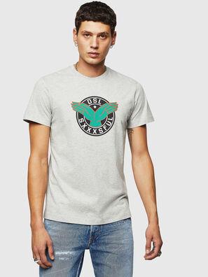 T-DIEGO-B5, Grigio Chiaro - T-Shirts