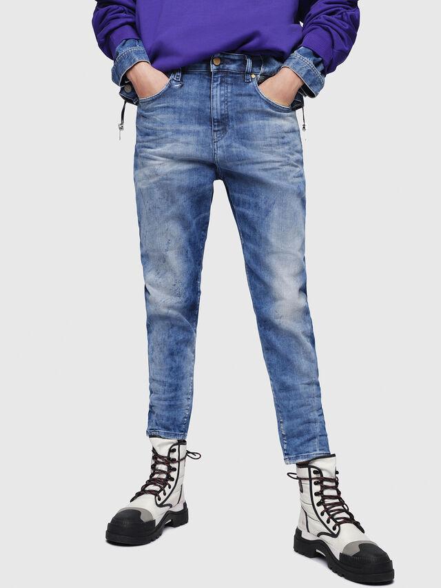 Diesel - Candys JoggJeans 080AS, Blu medio - Jeans - Image 1