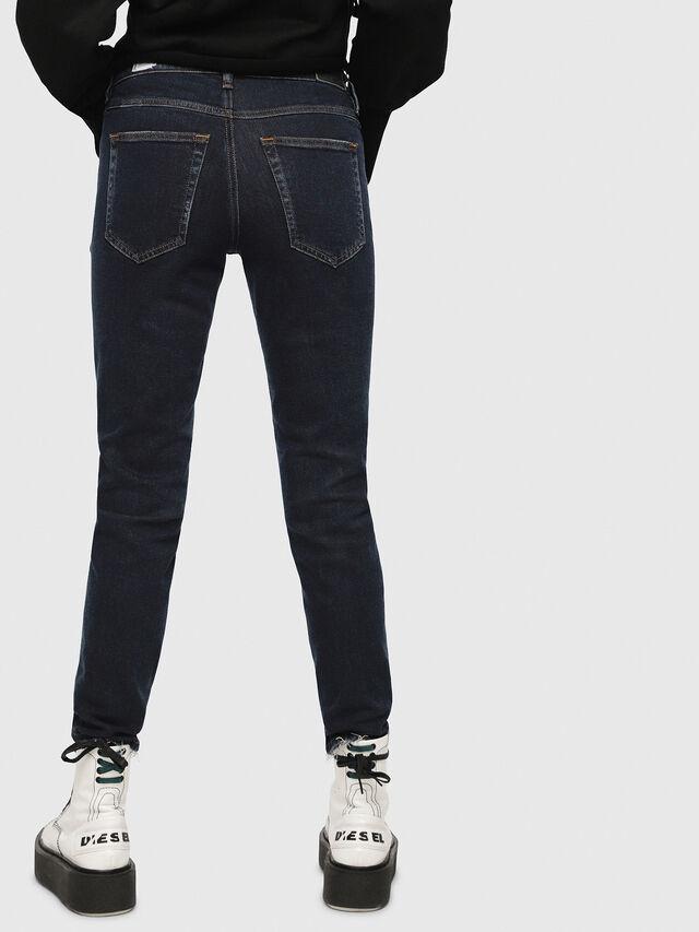Diesel - Babhila 084YD, Blu Scuro - Jeans - Image 2