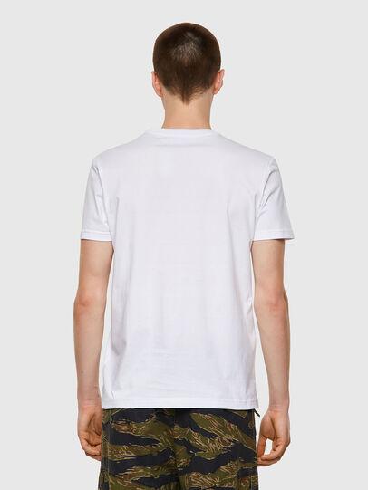 Diesel - T-DIEGOS-B3, Bianco - T-Shirts - Image 2