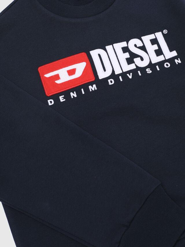 Diesel - SCREWDIVISION OVER, Blu Navy - Felpe - Image 3