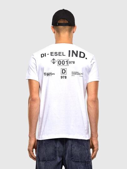 Diesel - T-DIEGOS-N21, Bianco - T-Shirts - Image 2