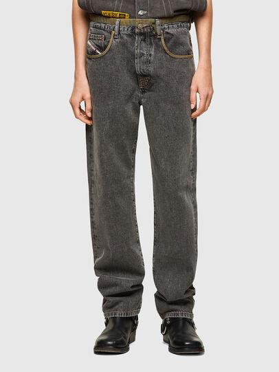 Diesel - DxD-P3 0CBBH, Nero/Grigio scuro - Jeans - Image 2