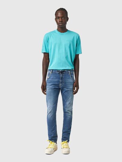 Diesel - Krooley JoggJeans® Z69VK, Blu medio - Jeans - Image 5