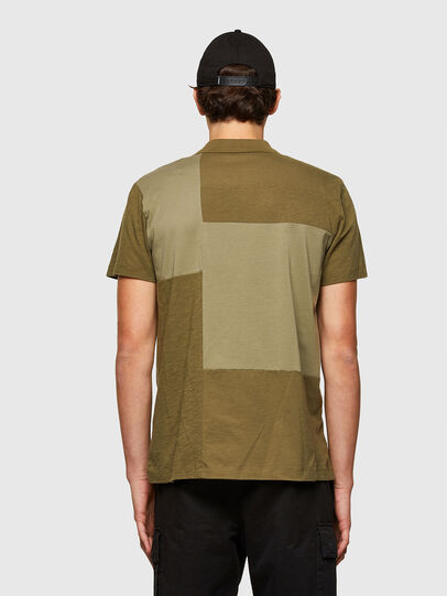 Diesel - T-POLWORK, Verde Militare - Polo - Image 2