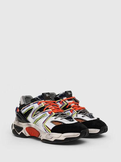 Diesel - S-KIPPER SK, Bianco/Nero - Sneakers - Image 2