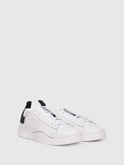 Diesel - S-CLEVER LOW, Bianco/Nero - Sneakers - Image 2
