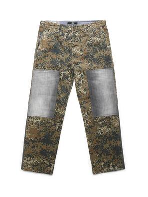 D-ONT-HURT-ME, Verde Camo - Pantaloni