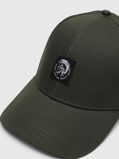 Diesel - CONDI-MAX-A, Verde Militare - Cappelli - Image 3