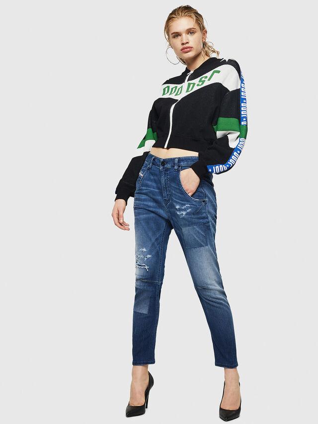 Diesel - Fayza JoggJeans 069HB, Blu medio - Jeans - Image 7