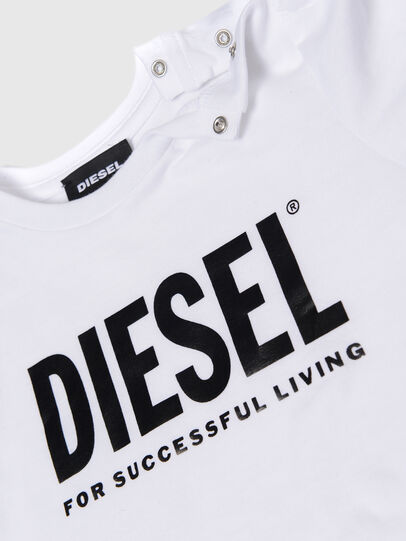 Diesel - TRASSYB, Bianco - T-shirts e Tops - Image 3