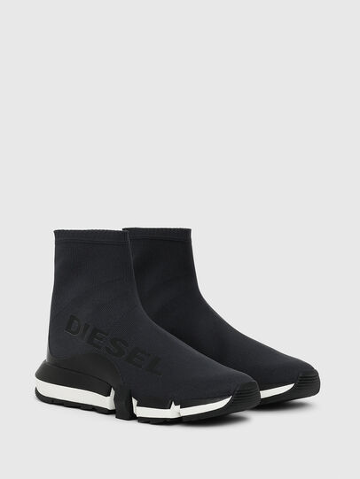 Diesel - H-PADOLA HIGH SOCK W, Nero - Sneakers - Image 2