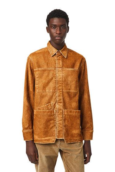 Overshirt in JoggJeans® floccato